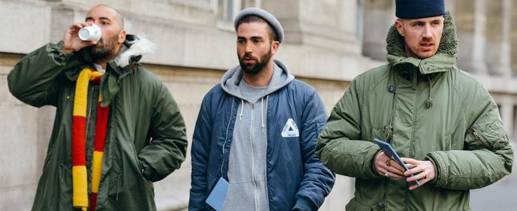 виды мужских курток