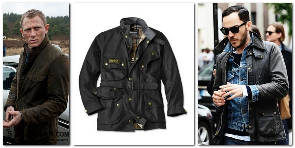 Длинная куртка Барбур