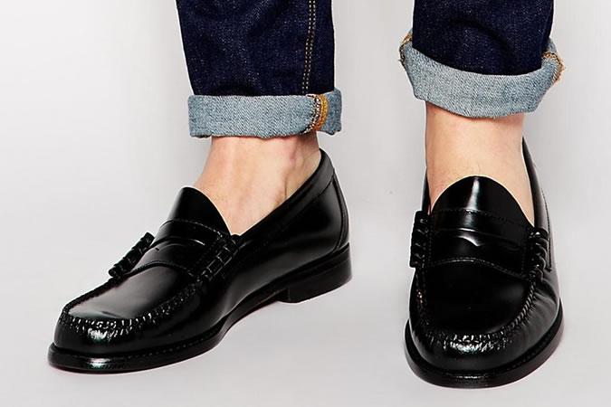 Мужская обувь пенни-лоферы