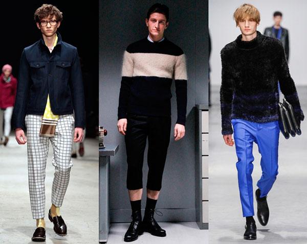 Мужские укороченные брюки