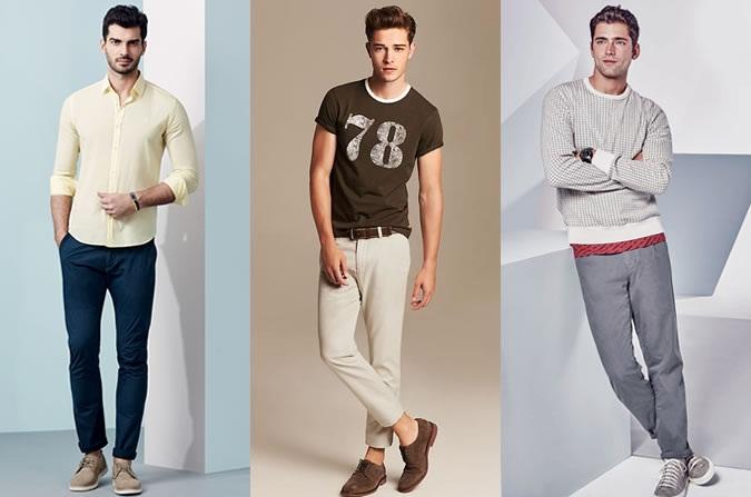 Летние брюки чинос