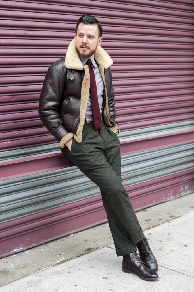 Куртка бомбер в стиле кэжуал