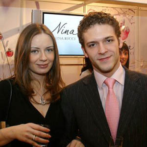 Евгения Варшавская с мужем