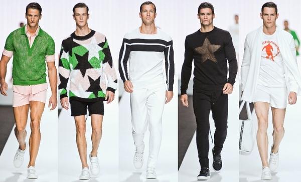 Мужская одежда в спортивном стиле