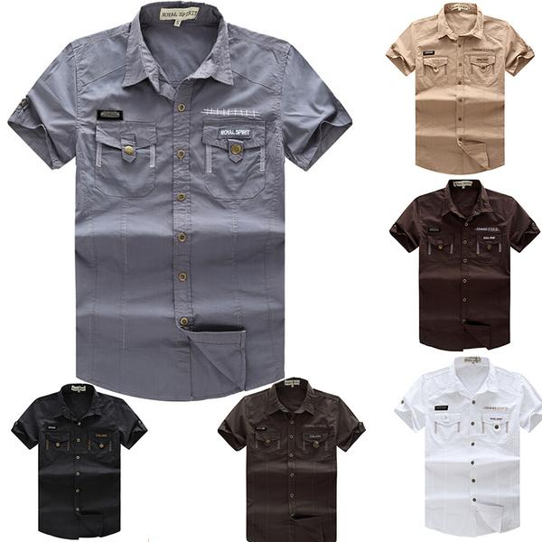 Сафари сорочка мужская