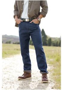 Мужсие джинсы на флисе