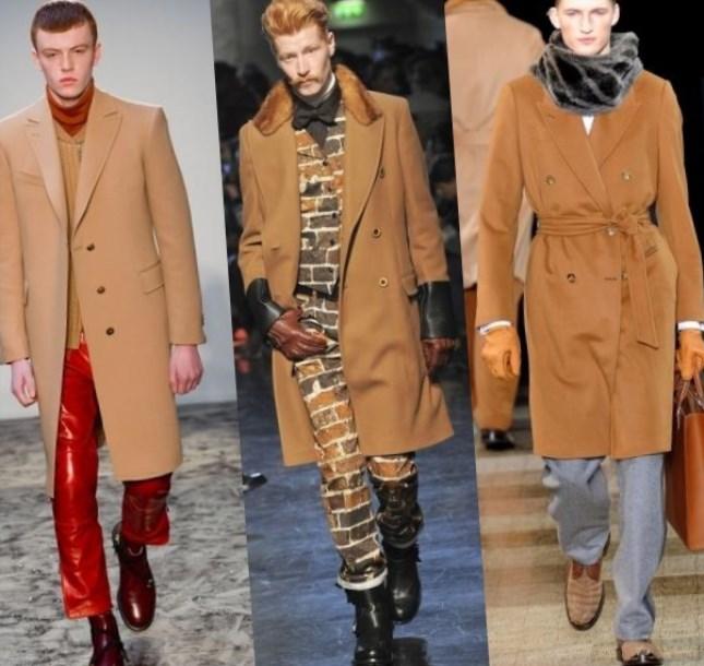 C чем носить бежевое пальто