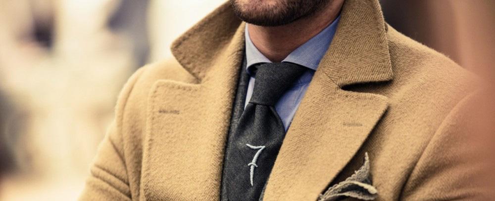 Пальто светлое мужское