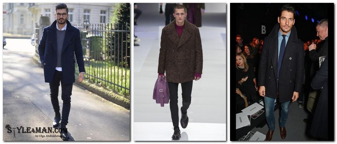 Куртка-бушлат мужская