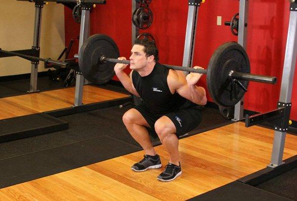 Как правильно приседать чтобы накачать ягодичные мышцы