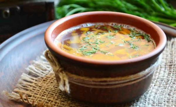 сварить суп из сельдерея диетический рецепт