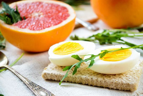 Диета на неделю с яйцами