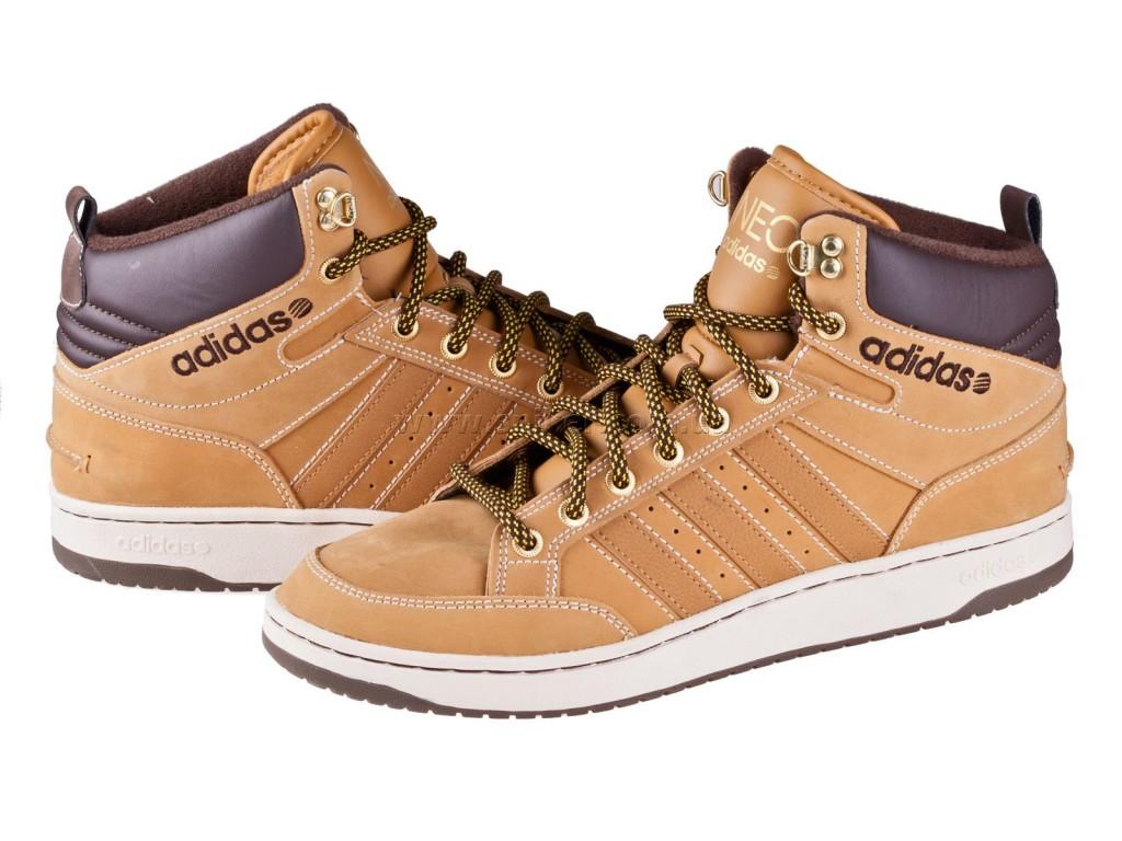 Зимняя обувь мужская адидас