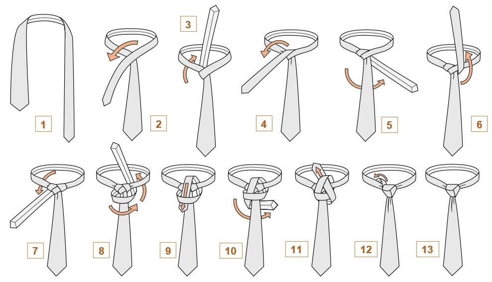 галстук тринити