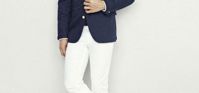 Мужские светлые брюки