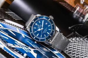 стильные часы Breitling Superocean