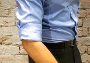 как заворачивать рукава на рубашке