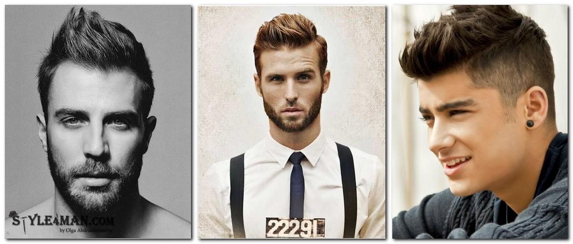 мужские прически 2016 на средние волосы
