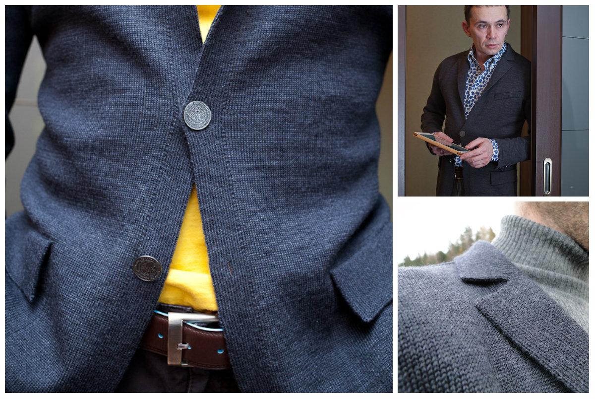 мужские пиджаки трикотажные