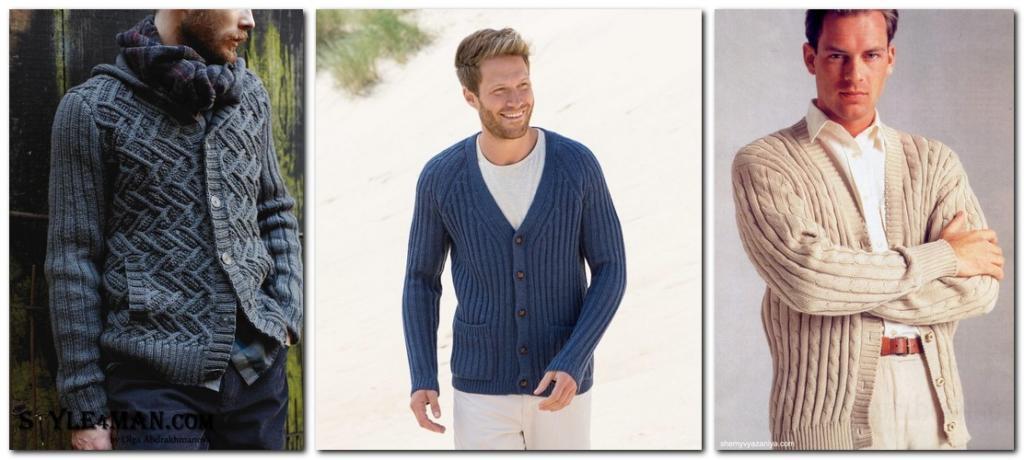 трикотажные мужские пиджаки