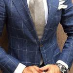 рубашка под синий костюм
