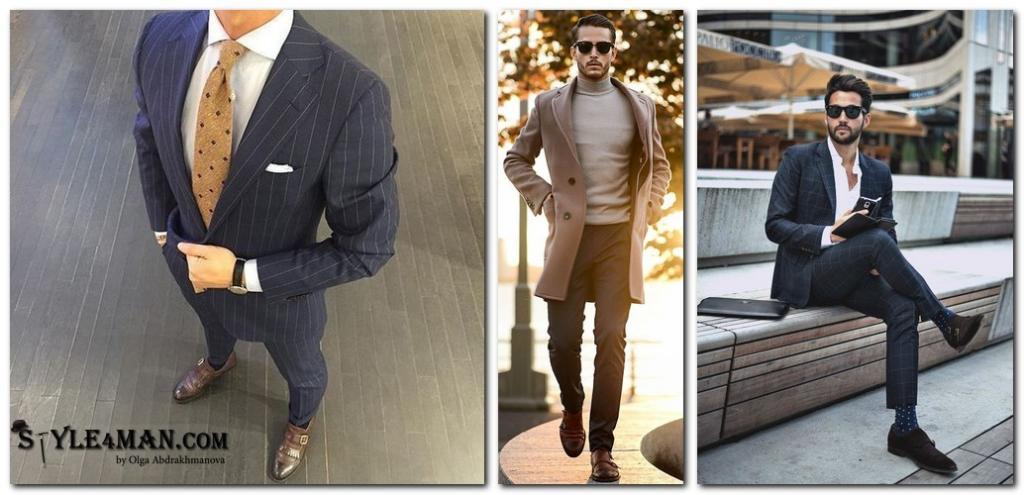 мужские туфли модные