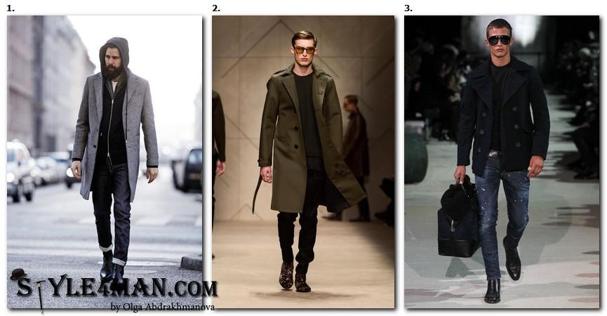 зимняя мужская модная обувь