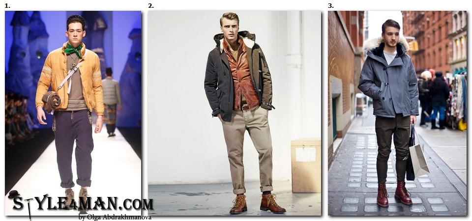 мужская зимняя обувь модная