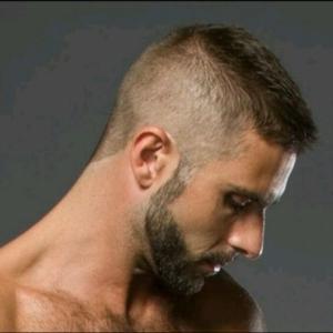 мужская стрижка классическая
