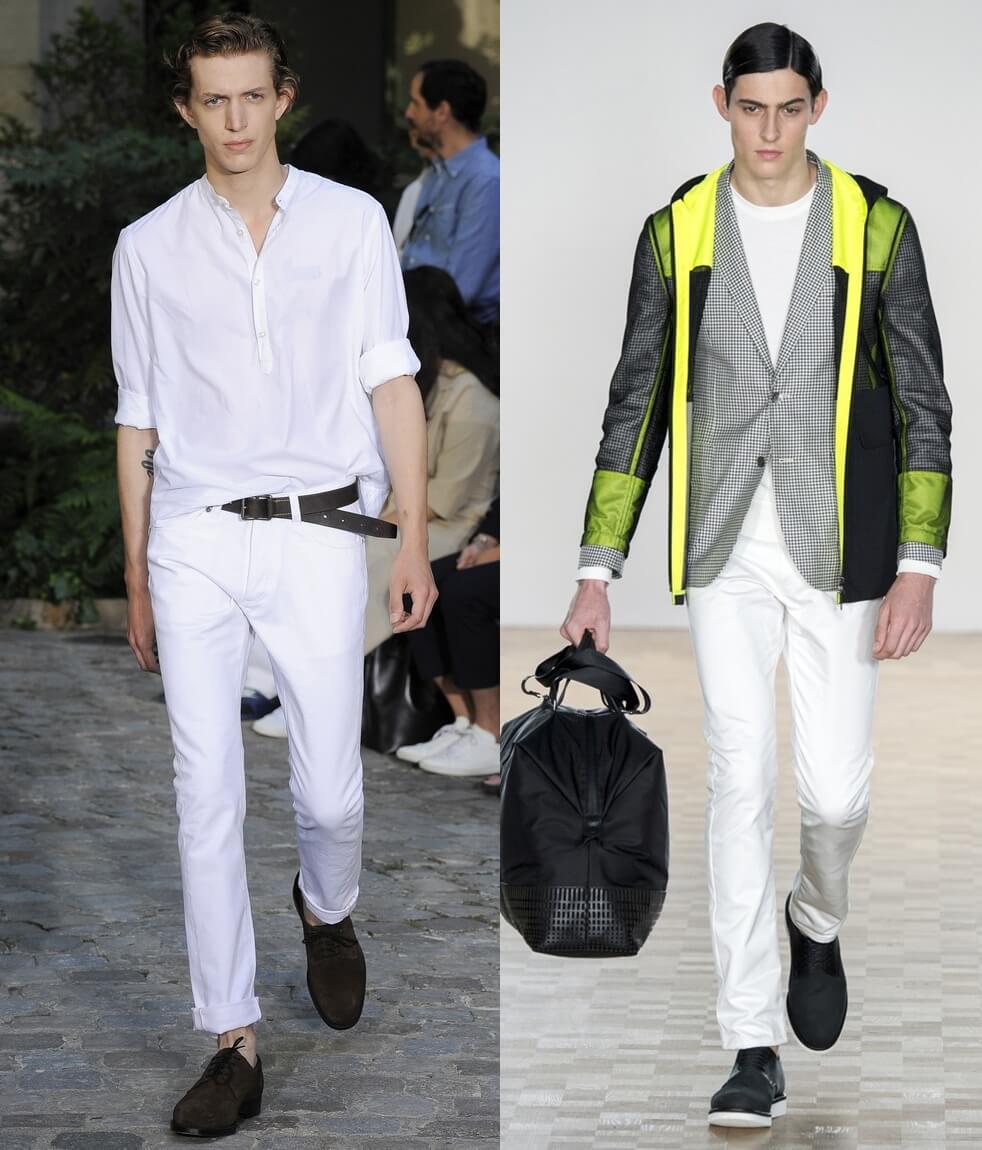 Узкие мужские брюки