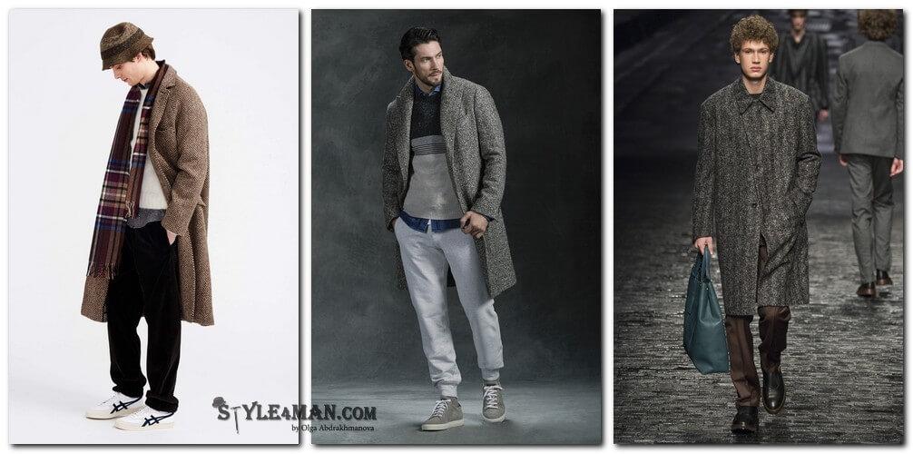 05a5a7d49d6 C чем носить мужское пальто 2018 модные тенденции