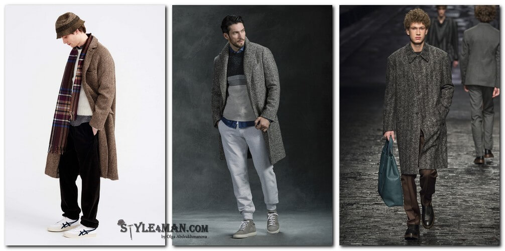 мужское пальто мужское
