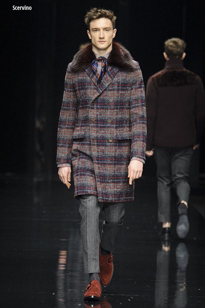 пальто с мехом для мужчин