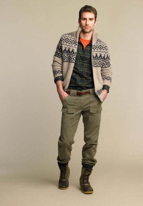 брюки мужские с карманами по бокам