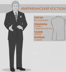 американский крой костюма