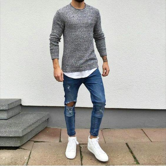 673d7bde Обувь под джинсы для мужчин - какую обувь носить с джинсами