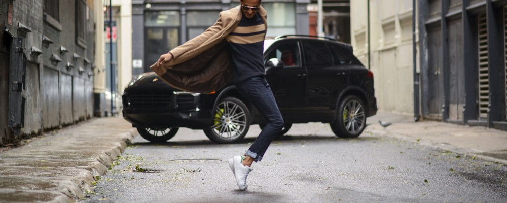 обувь с джинсами
