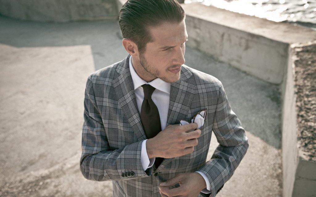 9 модных советов как носить пиджак в клетку мужчине