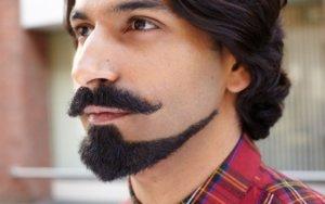 модельная стрижка бороды