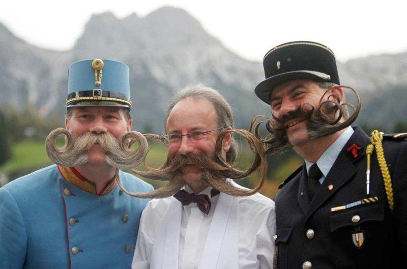виды бородок у мужчин