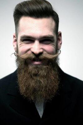 формы бороды у мужчин