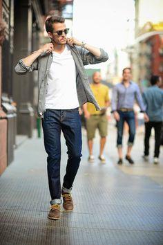 тренды мужской моды весна лето 2017