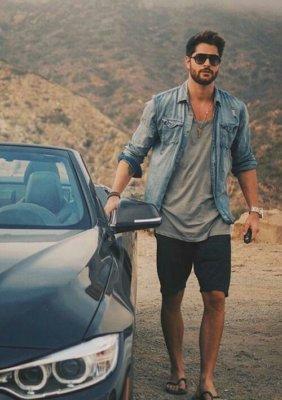 какие шорты в моде летом 2017 мужские
