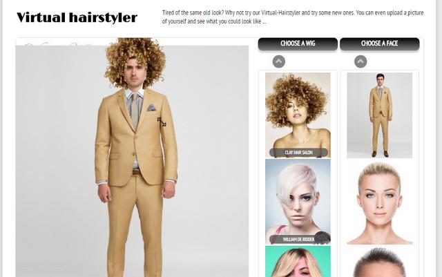 подбор цвета волос онлайн бесплатно