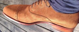 коричневые мужские туфли