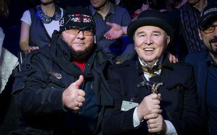 Вячеслав Зайцев с сыном