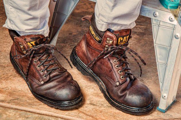 обувь коричневые ботинки