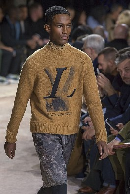 коллекция Louis Vuitton в Париже