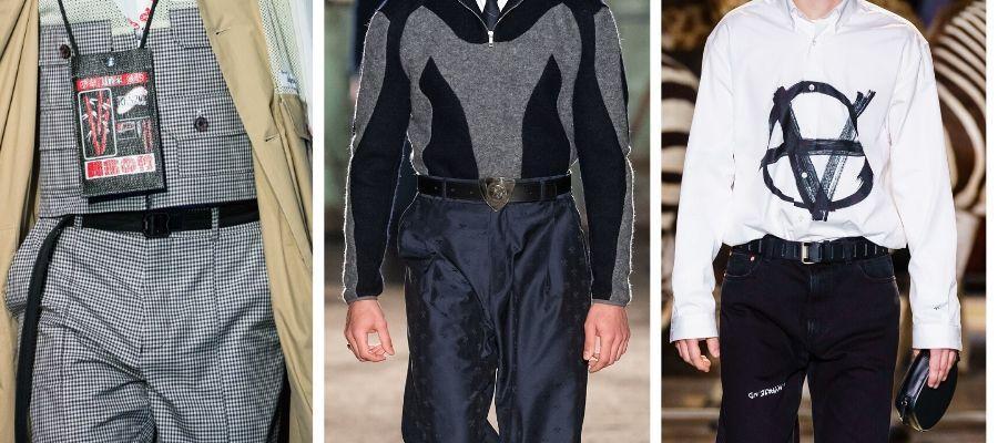 модные мужские ремни 2019-2020
