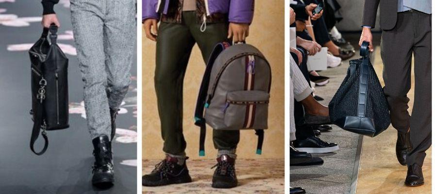 модные мужские сумки 2020